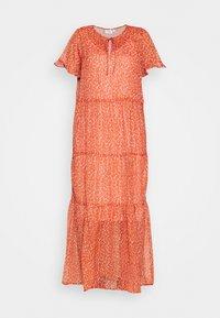 Saint Tropez - XELINASZ DRESS - Maxi dress - red orange puff sky - 4