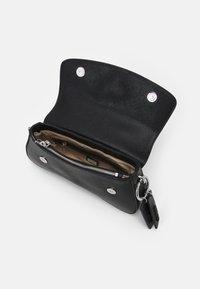 Guess - CORDELIA FLAP SHOULDER - Handbag - black - 2