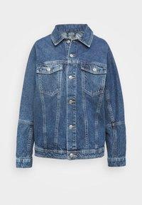 JACKET ASKA - Džínová bunda - denim blue