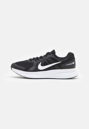 RUN SWIFT 2 UNISEX - Obuwie do biegania treningowe - black/white/dark smoke grey