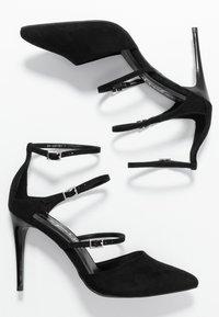 New Look - STRAPS - High heels - black - 3