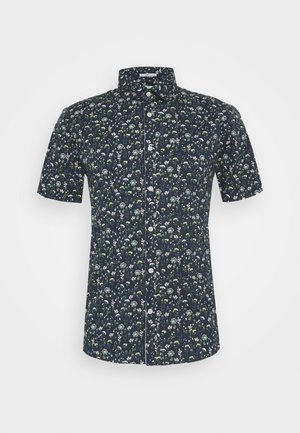 FLORAL STRETCH SHIRT - Shirt - dark blue