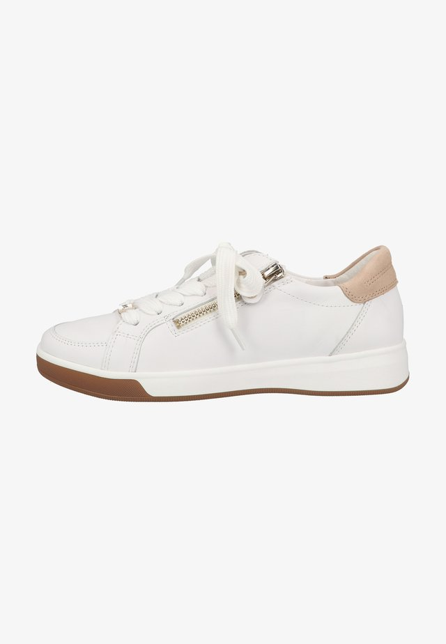 Trainers - weiss camel