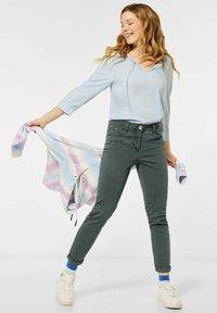Cecil - Slim fit jeans - grün - 1