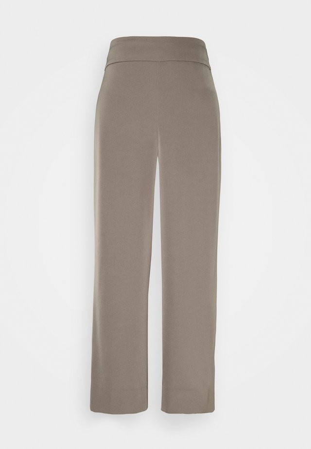 ZHEN CULOTTE - Trousers - sandy grey