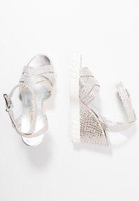 Casadei - High heeled sandals - argento - 3