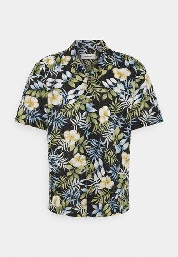 JJGREG PLAIN - Shirt - black