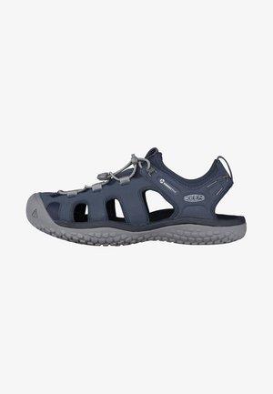 SOLR - Walking sandals - navy/steel grey