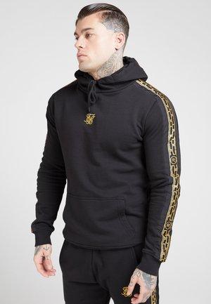Hoodie - black  gold