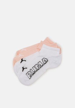 WOMEN OUTLINE LOGO SNEAKER 4 PACK - Calcetines - white/pink