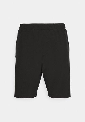 LOGO TRAINING SHORT - Sports shorts - black