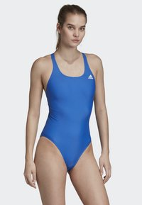 adidas Performance - ATHLY V SOLID SWIMSUIT - Swimsuit - blue - 1