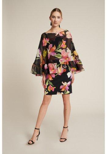 Day dress - floreale nera