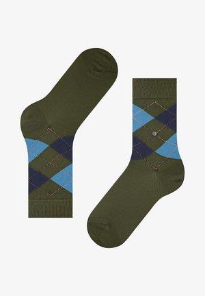QUEEN - Socks - darl olive