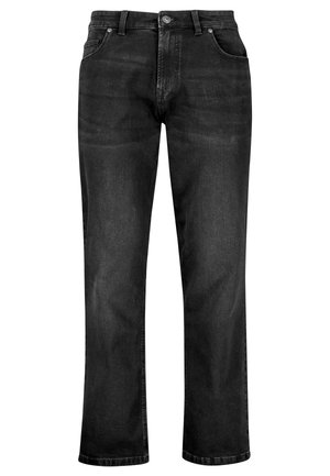 WITH STRETCH - Vaqueros bootcut - black