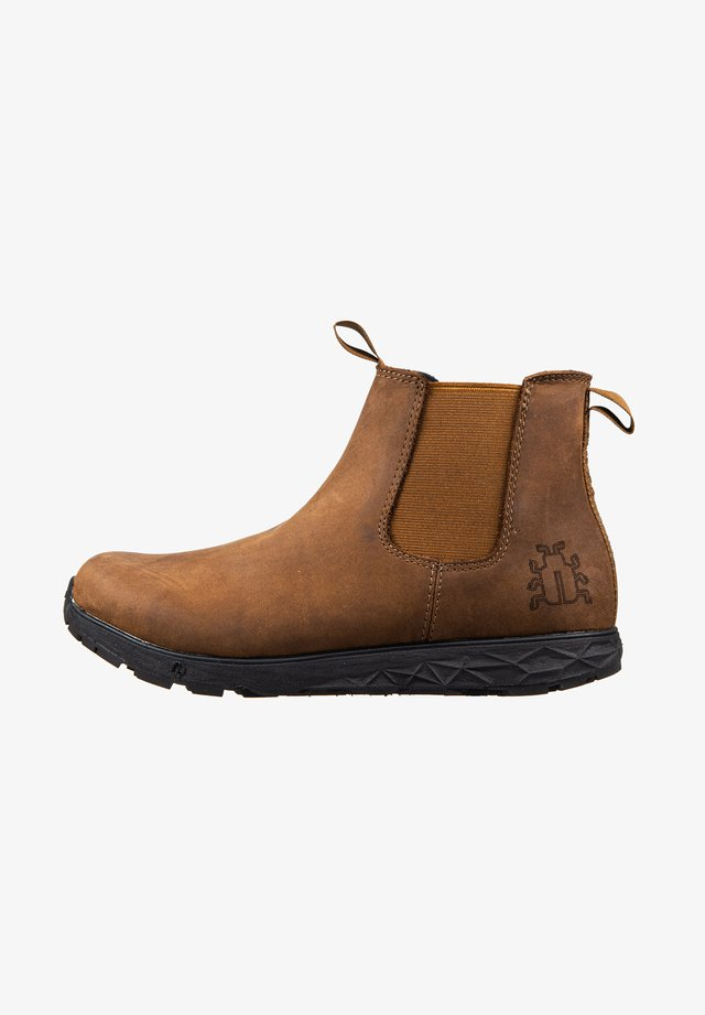 WANDER M MICHELIN WIC - Classic ankle boots - coffee
