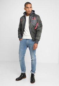 Alpha Industries - BLOOD CHIT - Veste mi-saison - greyblack - 1