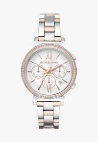 Michael Kors - SOFIE - Hodinky - silver-coloured/rose gold-coloured - 1