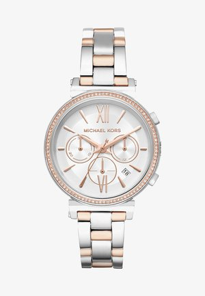 SOFIE - Hodinky - silver-coloured/rose gold-coloured