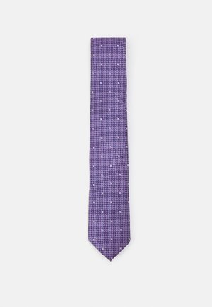 MICRO TEXTURE WITH DOT - Tie - lilac