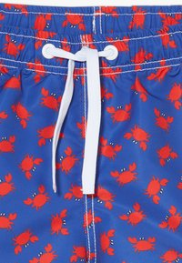 Benetton - SWIM TRUNKS - Uimashortsit - blue/red - 3