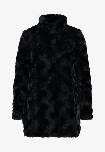 VMCURL HIGH NECK JACKET NO - Manteau court - black