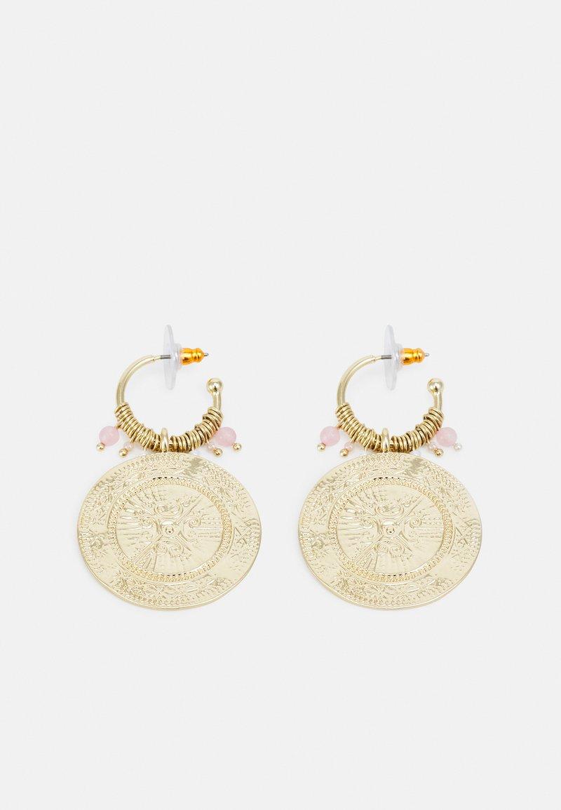 Pilgrim - EARRINGS - Pendientes - gold-coloured