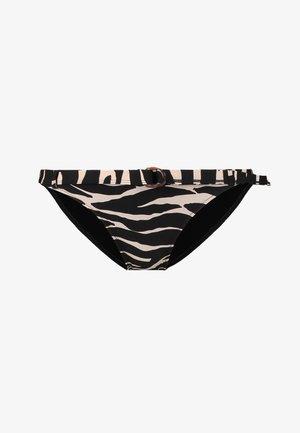 WILD ROSE - Bikini bottoms - black