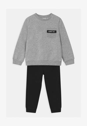 SET - Tracksuit - grey melange
