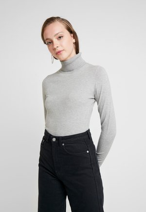 VMHAPPY BASIC ROLLNECK - Strikkegenser - light grey melange