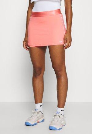 DRY SKIRT - Sports skirt - sunblush/white