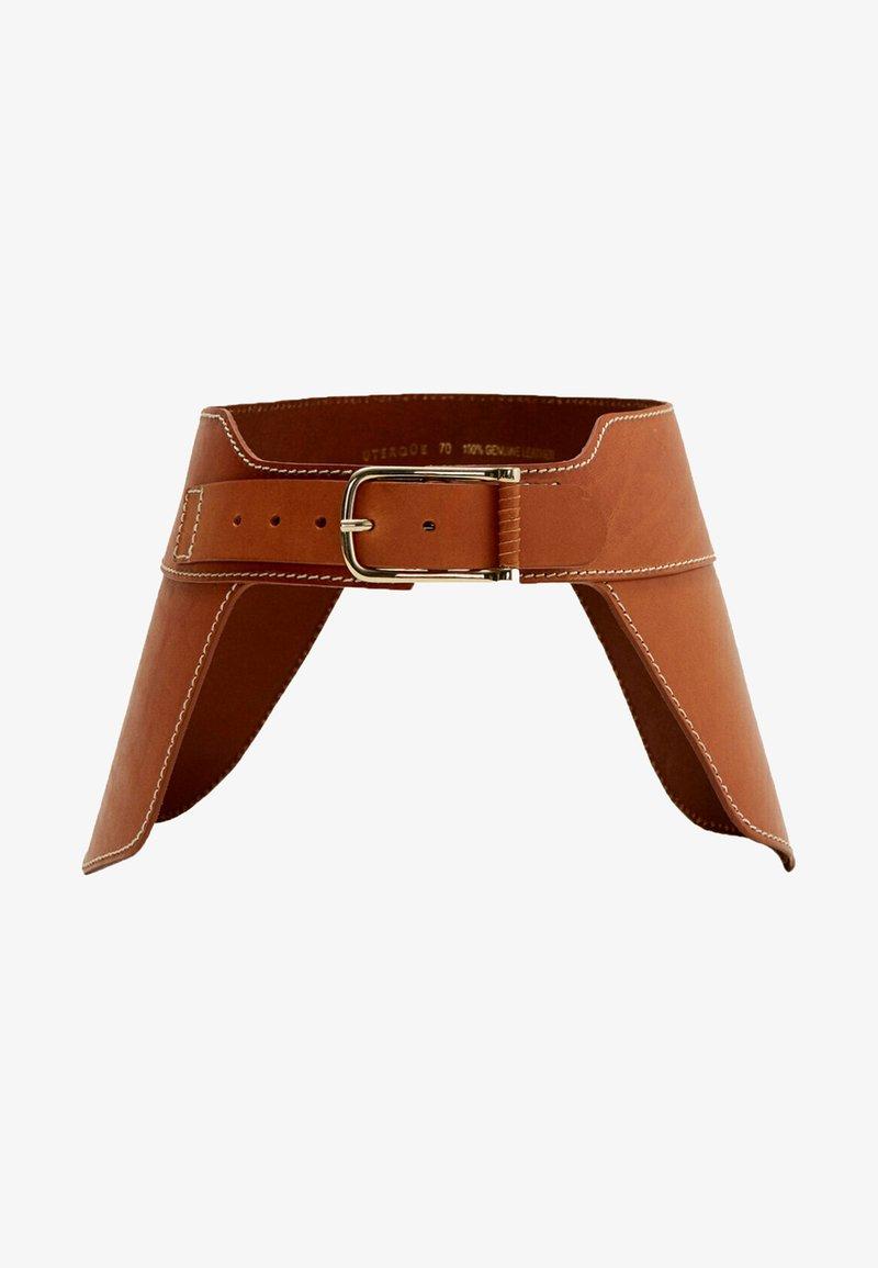 Uterqüe - Waist belt - brown