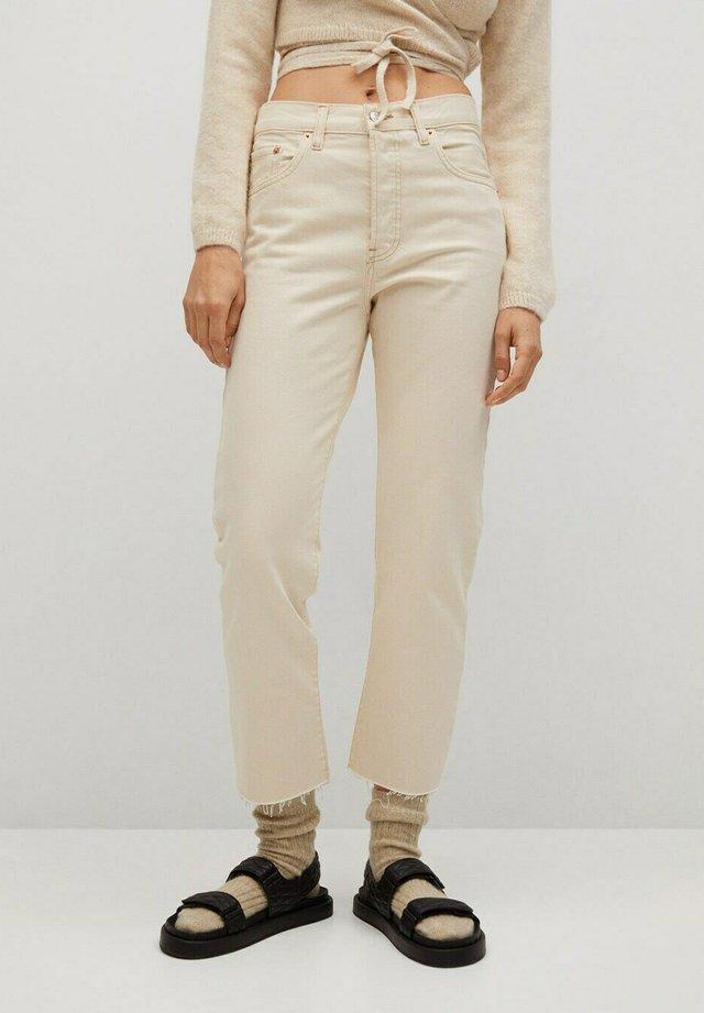 HAVANA - Straight leg jeans - ecru