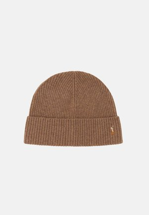 HAT - Beanie - honey brown heath