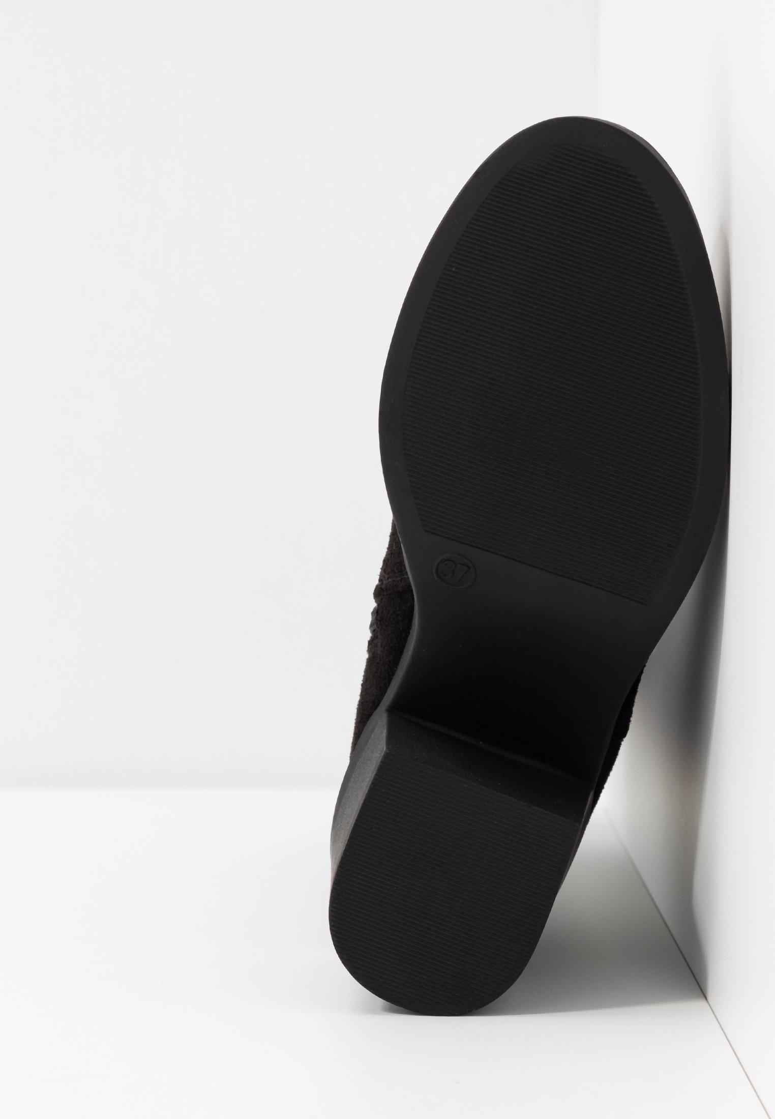 Even&Odd Wide Fit Overknees black/schwarz