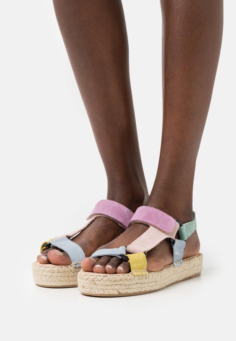 Zign - Platform sandals - multi-coloured
