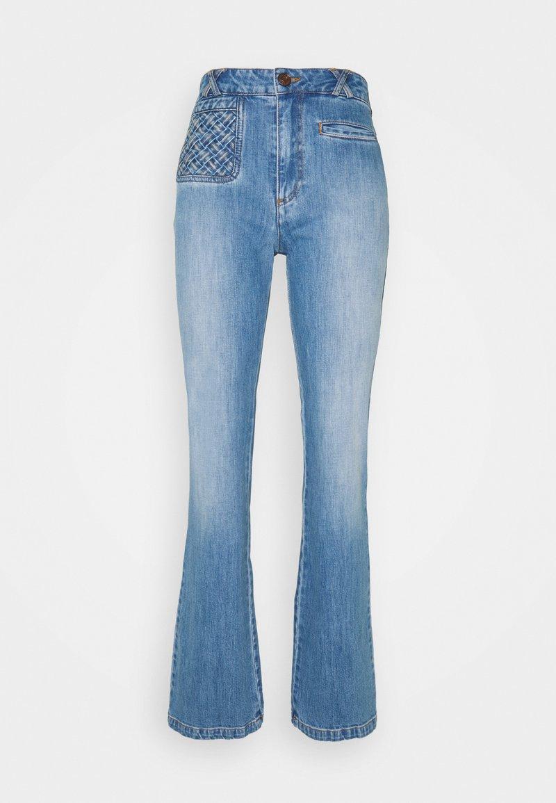 See by Chloé - Široké džíny - shady cobalt