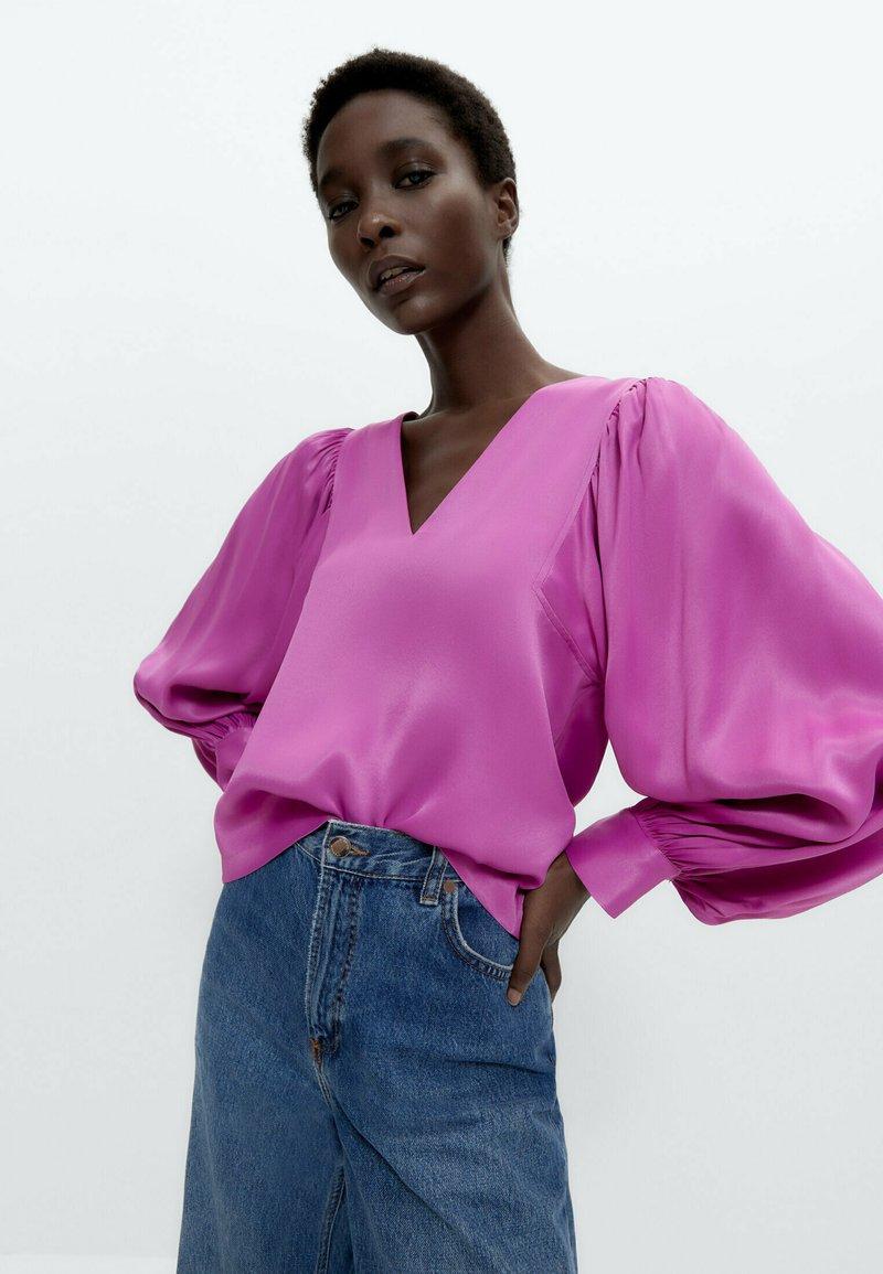 Uterqüe - Blouse - pink