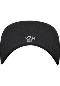 Cayler & Sons - Cap - washed black/mc - 4