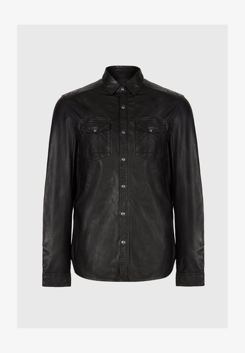 AllSaints IRWIN - Hemd - black/schwarz VMVlqS