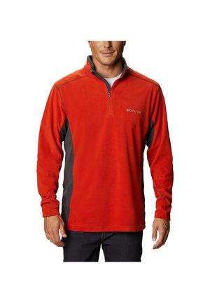 KLAMATH RANGE™ ZIP - Fleece jumper - orange melange