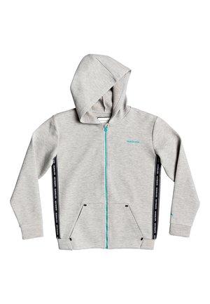 QUIKSILVER™ OHOPE CARVE - KAPUZENPULLI MIT REISSVERSCHLUSS FÜR JU - Zip-up hoodie - light grey heather