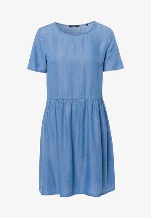 Spijkerjurk - mid blue soft wash