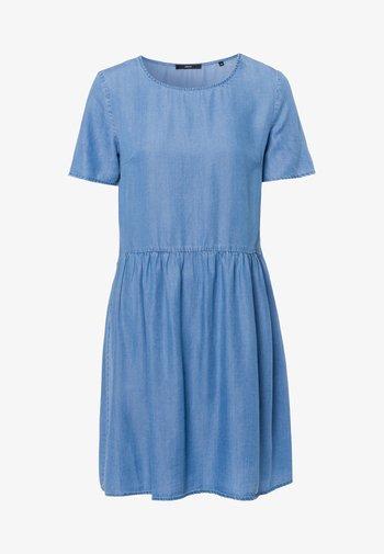 Denim dress - mid blue soft wash