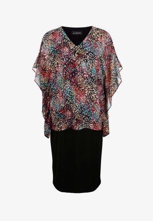 Shift dress - schwarz,multicolor