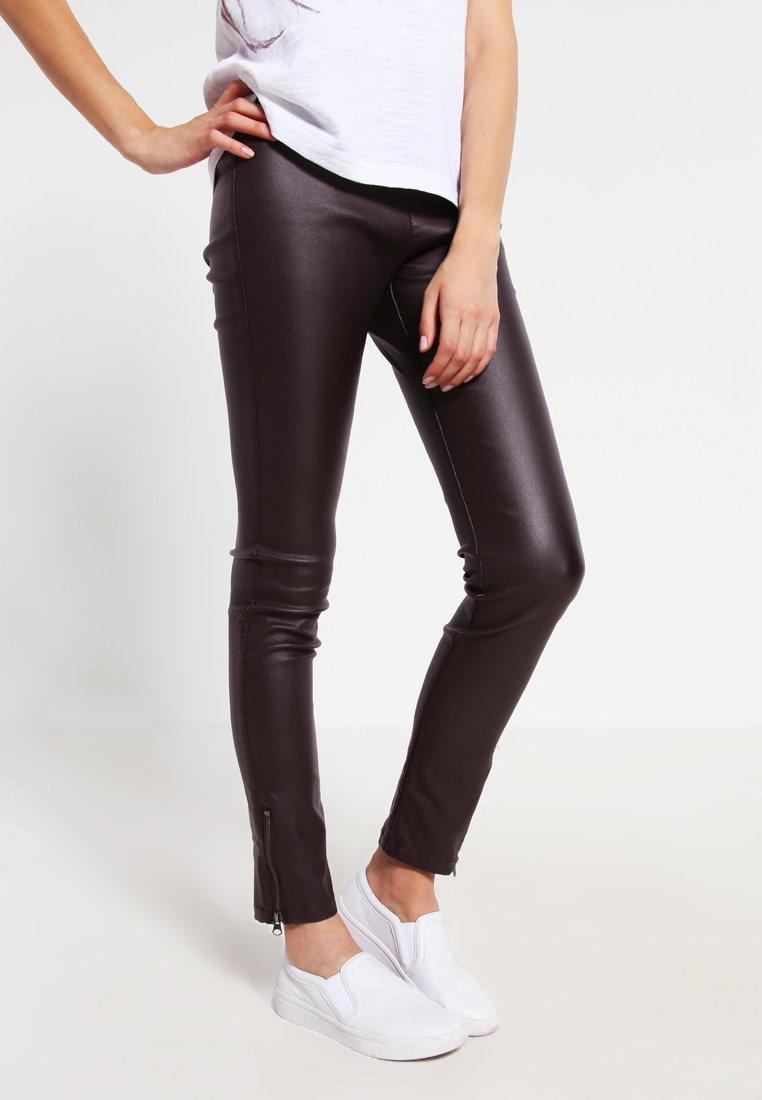 Cream - BELUS KATY - Leggings - Trousers - hot java