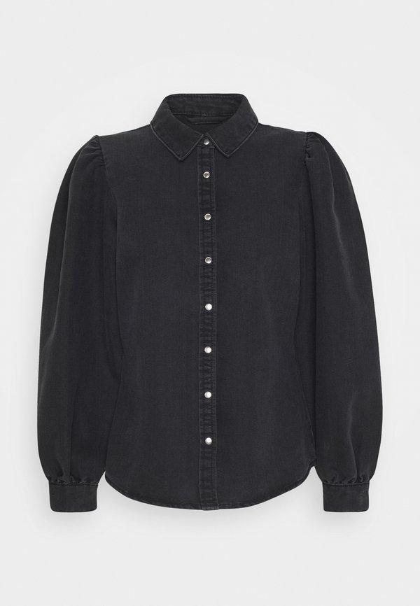 ONLY ONLROCCO LIFE - Koszula - dark grey denim/szary denim KPEF