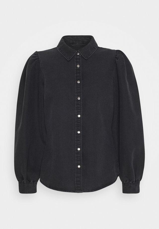 ONLROCCO LIFE - Camisa - dark grey denim