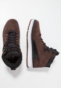 Park Authority - Sneakers hoog - dark brown/black - 1
