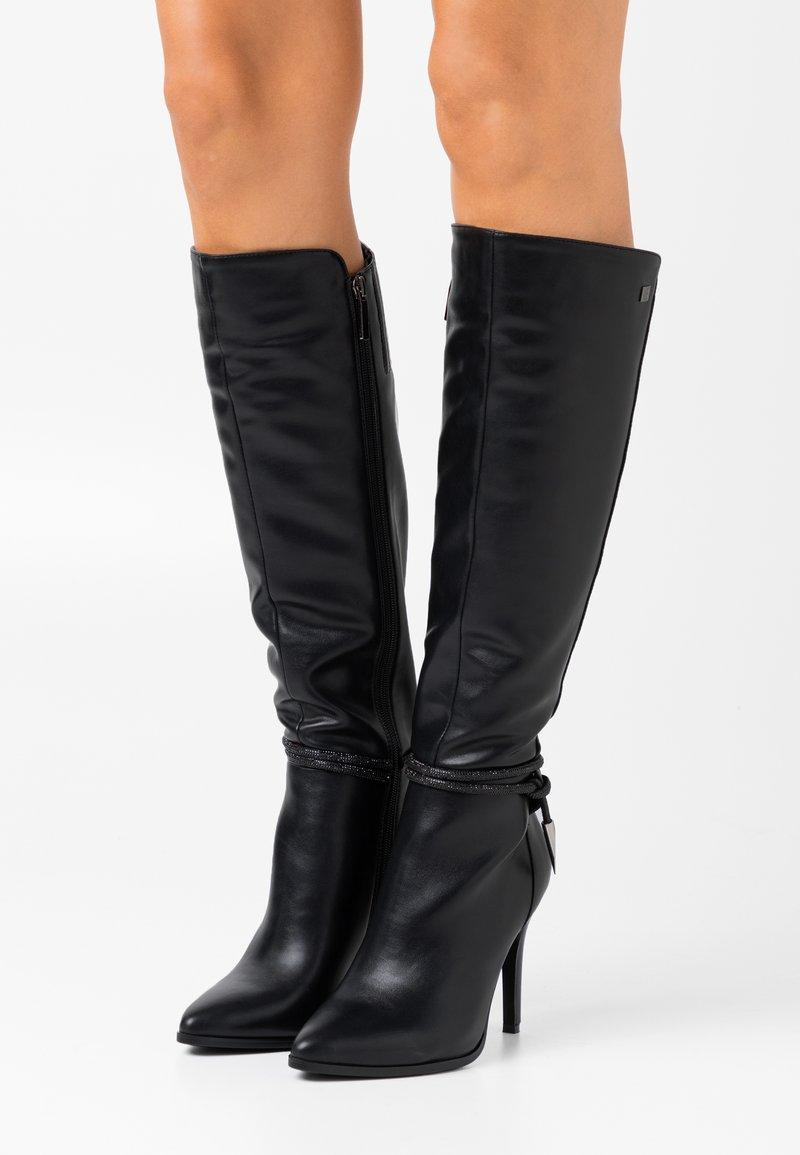 Laura Biagiotti - High heeled boots - black